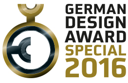 Recognized with the German Design Award 2016